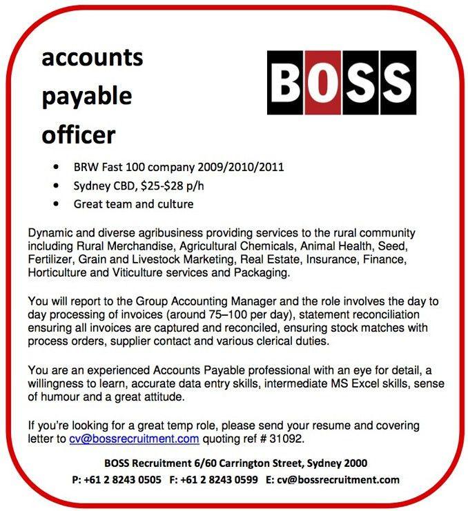 Recent Assignments - BOSS Recruitment