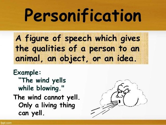 definition and examples of personification. how to write a ...