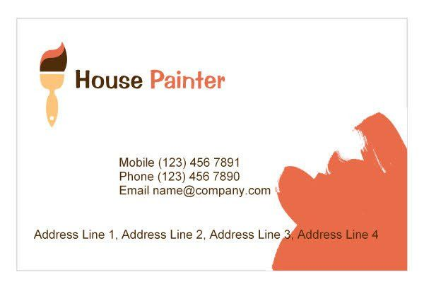 Painter & Painting Contractor Print Template Pack from Serif.com