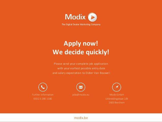 Modix Jobs | PHP Developer