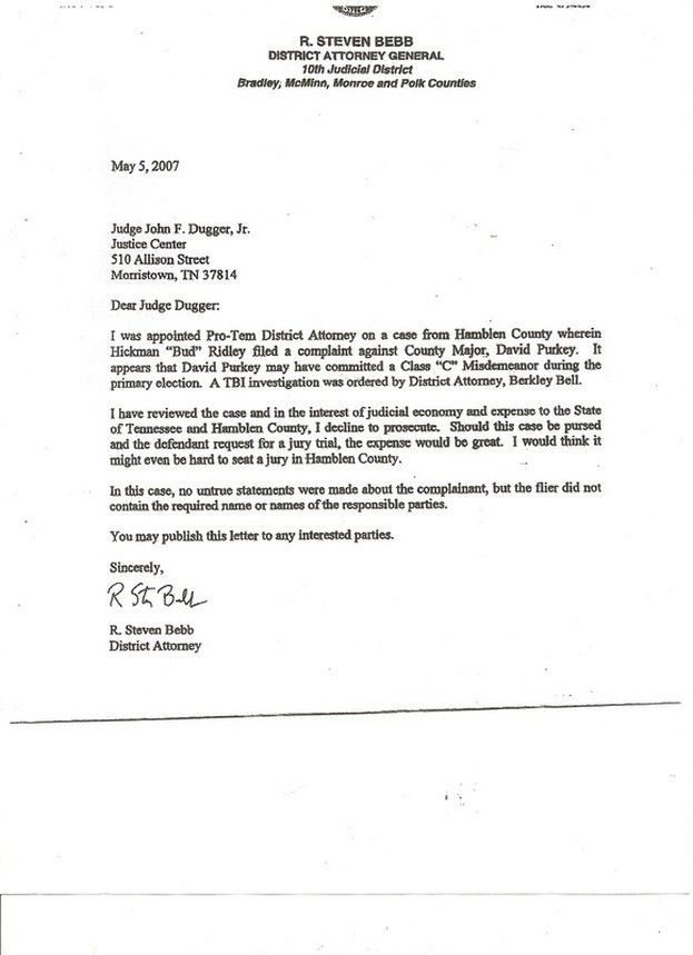 assistant attorney general cover letter