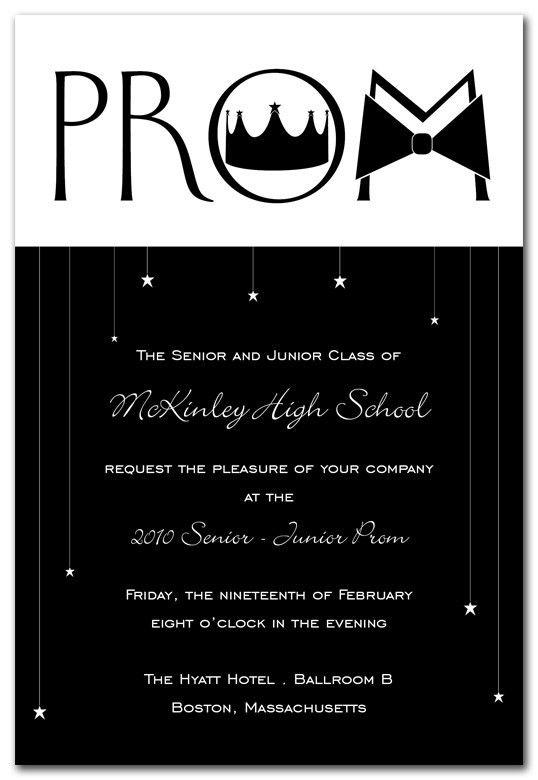 Prom Invitations | InvitationConsultant.com