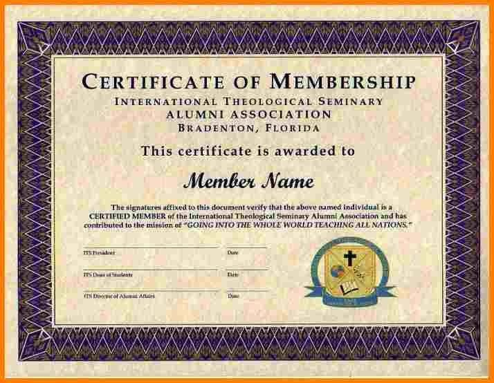 8+ free membership certificate template | sample of invoice