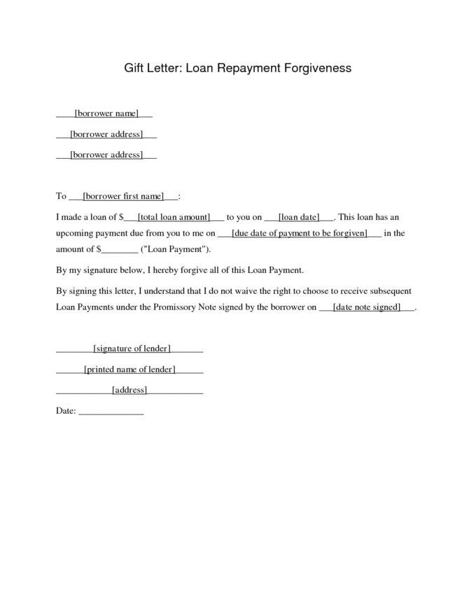 Sample Agreement Letter For Loan Form Repayment Letter Sample ...