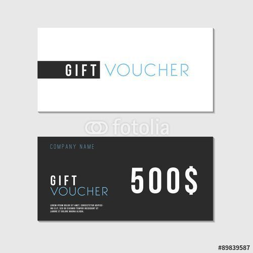 12 best Gift voucher images on Pinterest | Gift vouchers, Design ...
