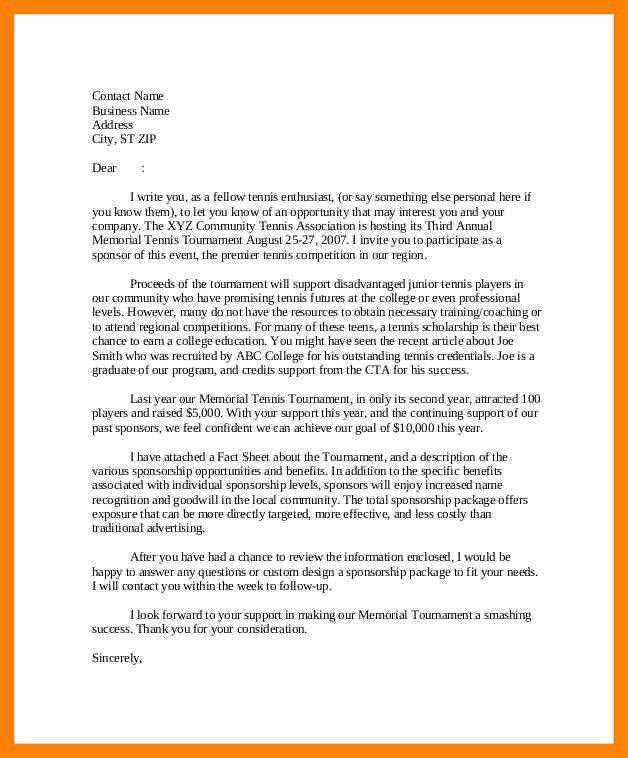 5+ sponsorship request letter | cv for teaching