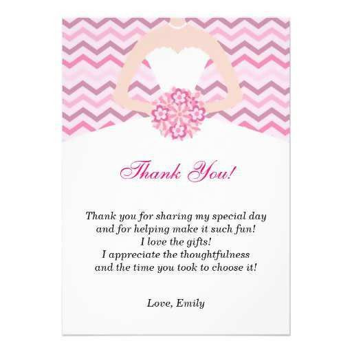 Bridal Shower Thank You Template #bridal #shower #thankyou ...