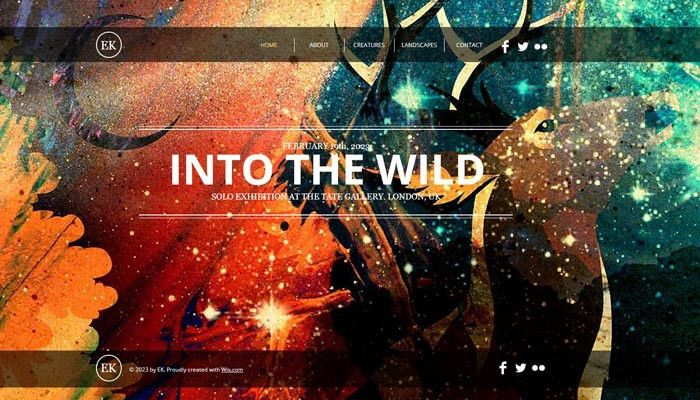 20 Beautiful Portfolio Website Templates for Artists