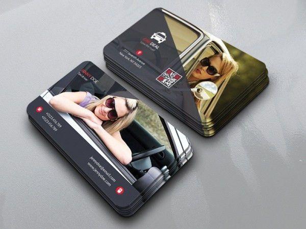 15+ Taxi Business Card Designs | FreeCreatives