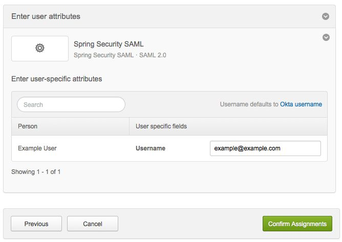 Spring Security SAML | Okta Developer