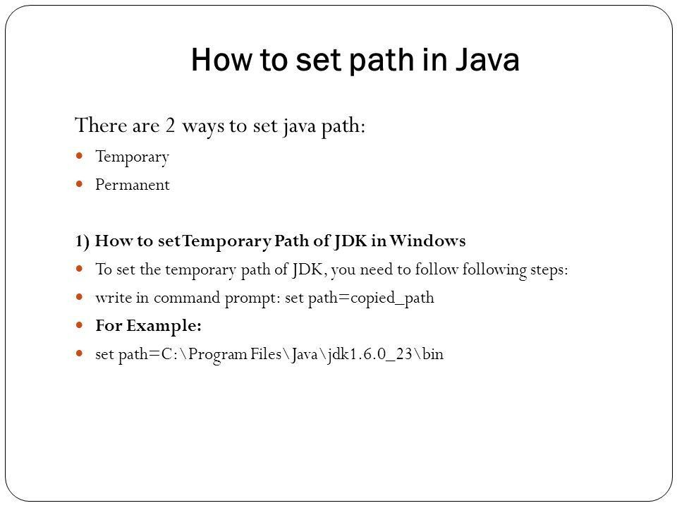 introductory lecture on java programming - ppt video online download