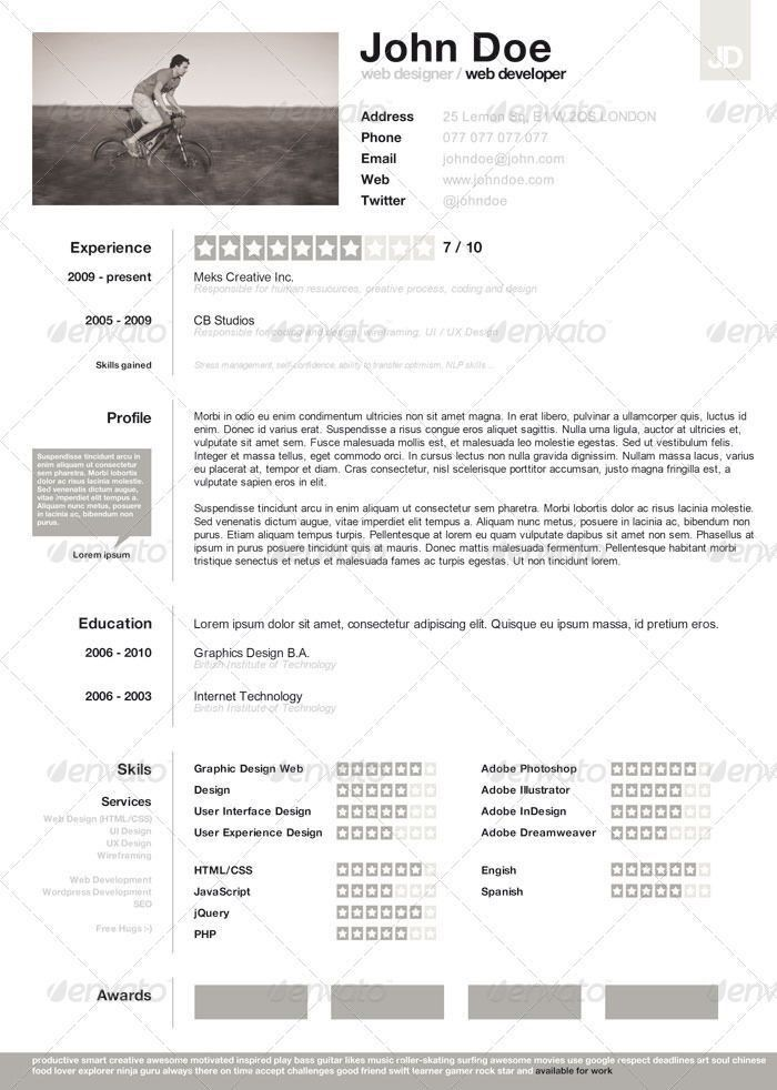 13 best Templates CV images on Pinterest | Resume layout, Cleanses ...
