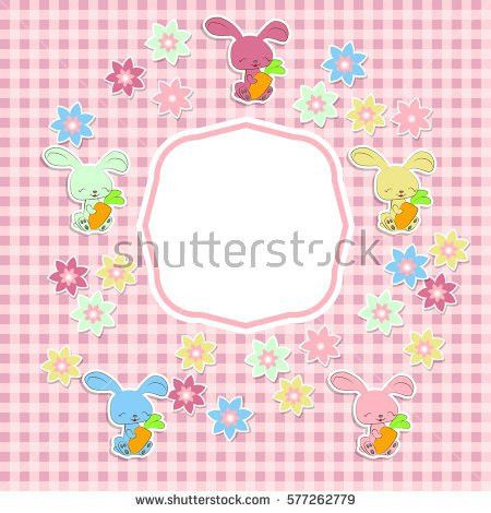 Vintage Scrap Booking Template Kid Party Stock Vector 541421983 ...