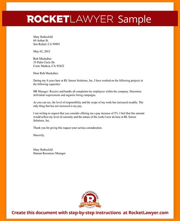 10+ demand letter for salary increase sample | cashier resumes