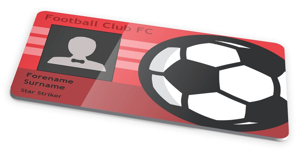 NOVELTY FOOTBALL/SOCCER CLUB ID CARD DESIGN by IDCardExperts on ...
