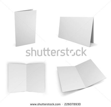 Blank Greeting Card Template Stock Images, Royalty-Free Images ...
