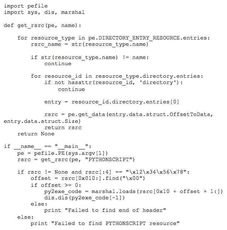Deobfuscating Python Bytecode « Threat Research Blog | FireEye Inc