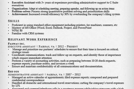 legal administrative assistant resume resume for administrative ...