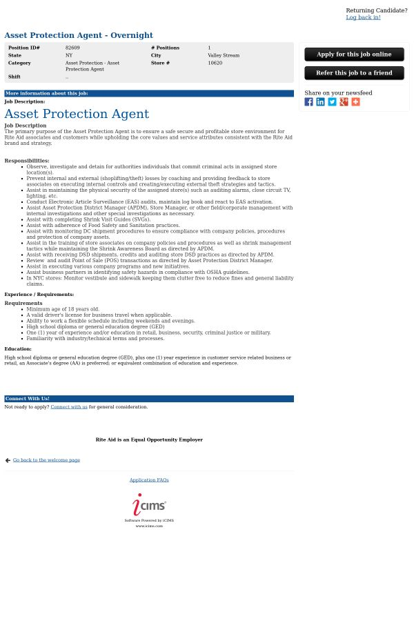 macys asset protection loss prevention detective part time ft ...