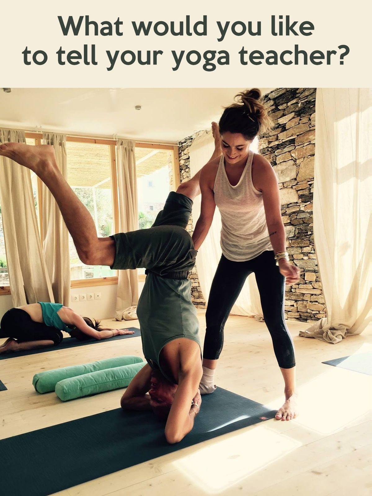Yoga Teacher Confessions — YOGABYCANDACE