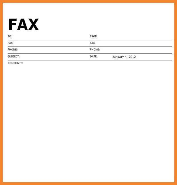 example fax cover sheet | bio resume samples