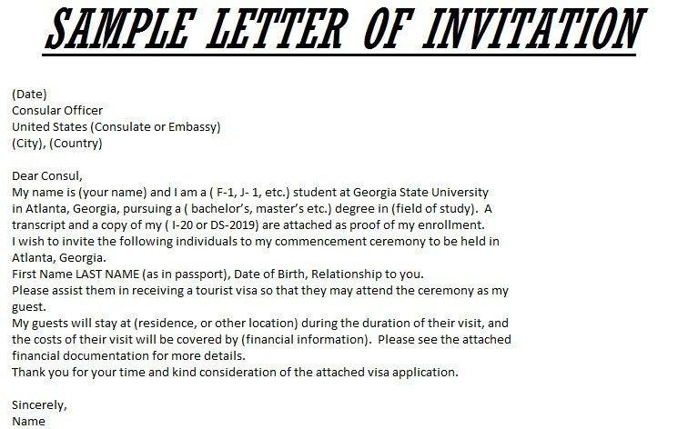 Sponsor Letter For Visitor Visa Usa   Mytemplate.co