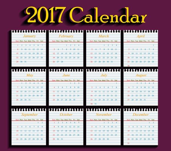Sample School Calendar. This Sample Calendar Has A School Year ...