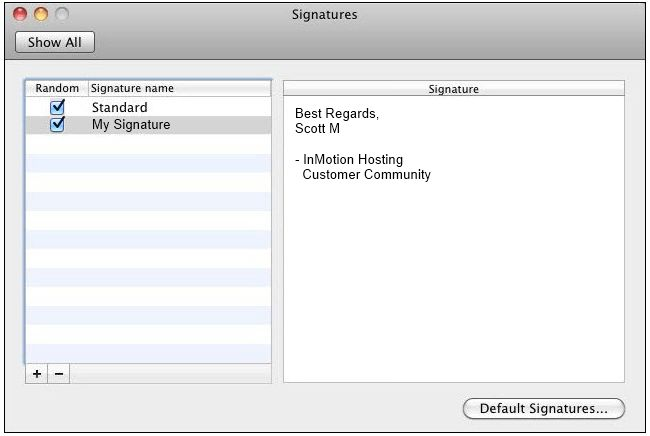 How to create an email signature for Mac in Outlook 2011 ...