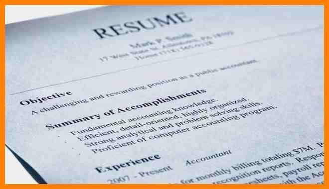 7+ resume objective summary | affidavit letter