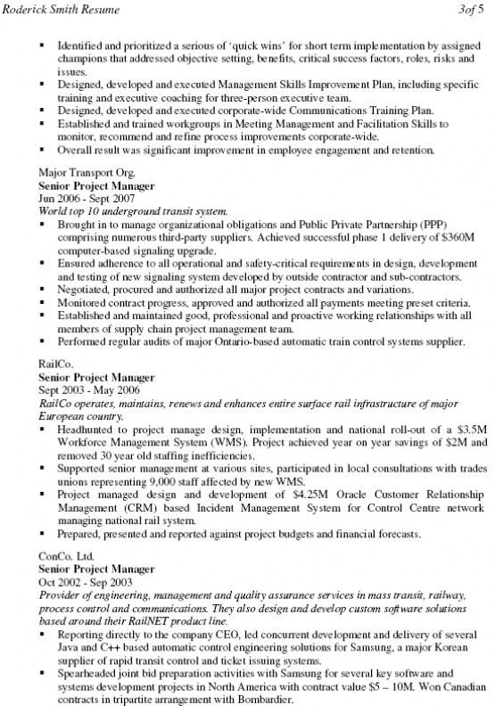 Business Consultant Resume Sample 13 Sample Business Consultant ...