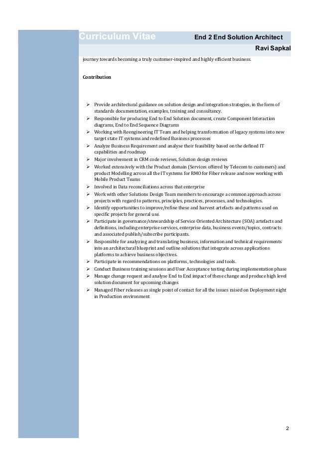 siebel architect resume valuebook co