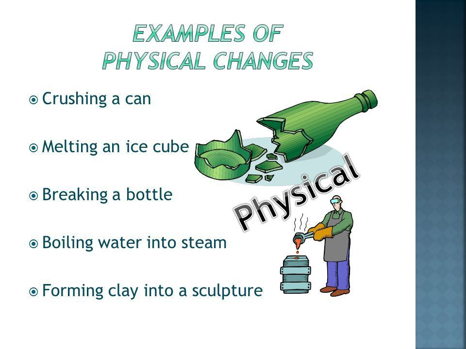 Changes in matter Physical and Chemical Properties - ppt video ...