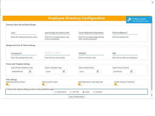 Employee Directory Enterprise Edition – Microsoft AppSource