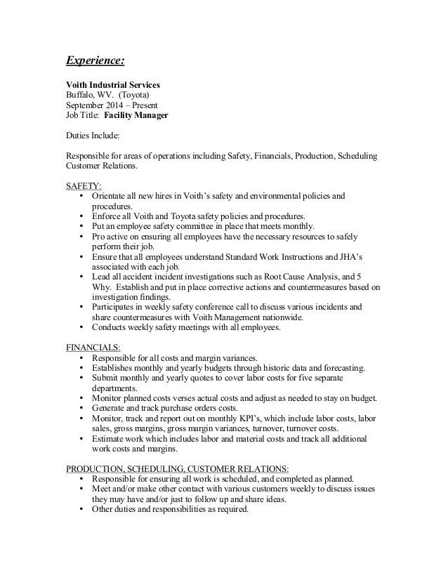 Keith Oxley Resume 7-3-15