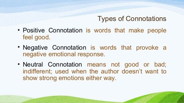 Interpreting Connotations of Words