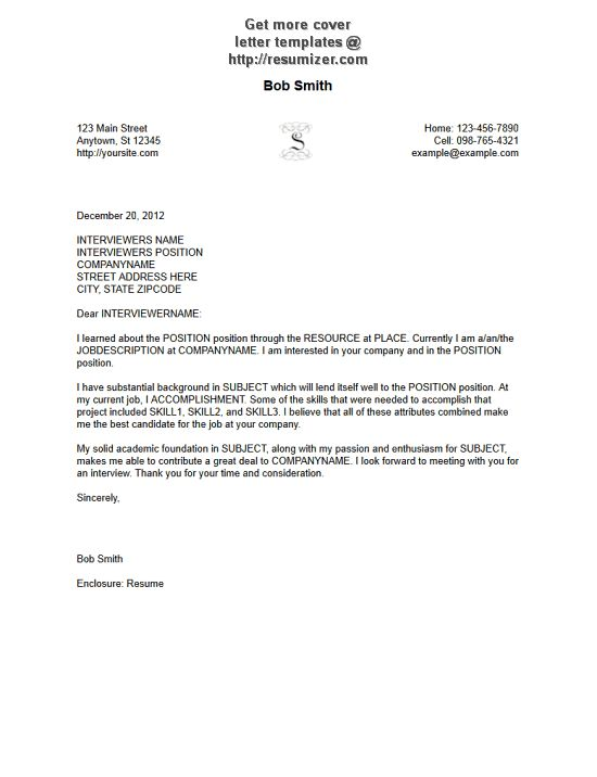 free microsoft word cover letter templates letterhead and fax free ...