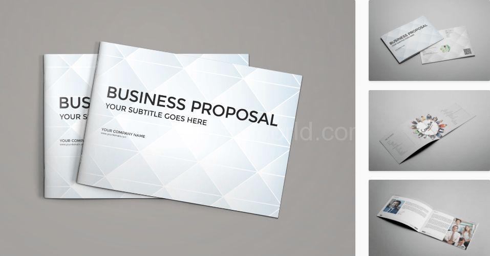 Download Landscape Business Proposal Template Free