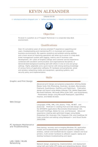 Graphic Artist Resume samples - VisualCV resume samples database
