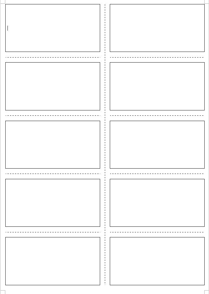 Four MS Word templates for making your own material! – tekhnologic