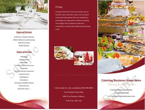 20+ [ Catering Menu Templates Free Download ] | Lunch Menu ...