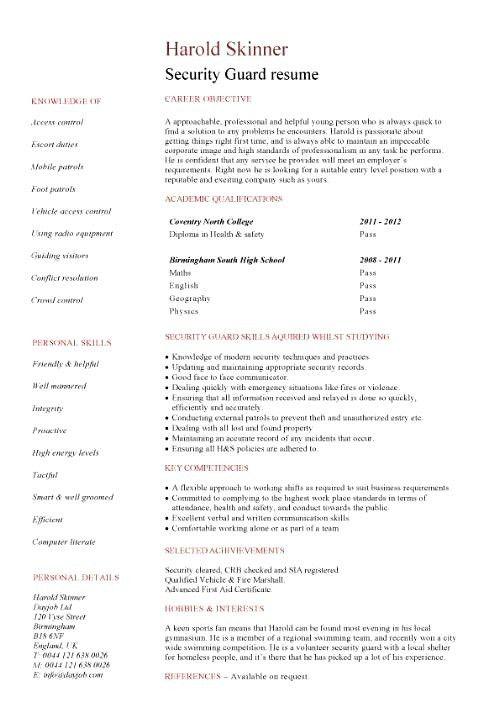 Law Enforcement Resume [Template.billybullock.us ]