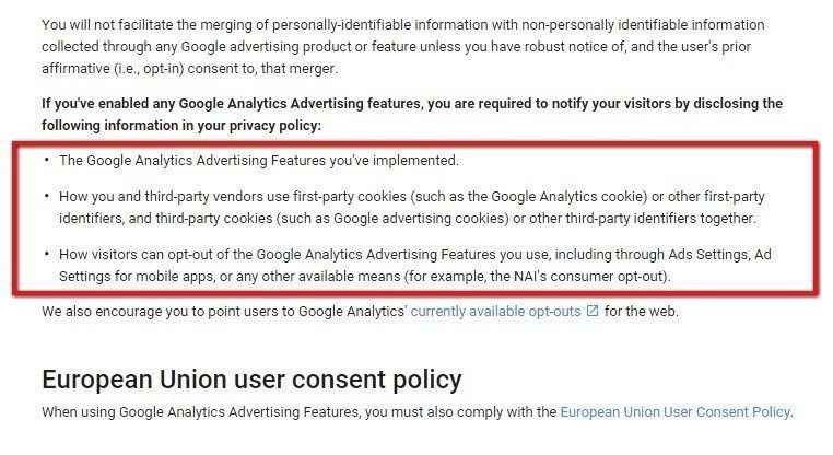 Privacy Policy for Google Analytics - TermsFeed