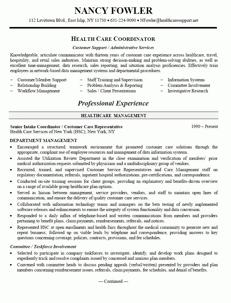 the professional health insurance resume 2016 recentresumescom