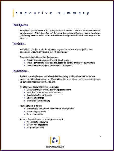 Proposal format template - Business Proposal Templated - Business ...