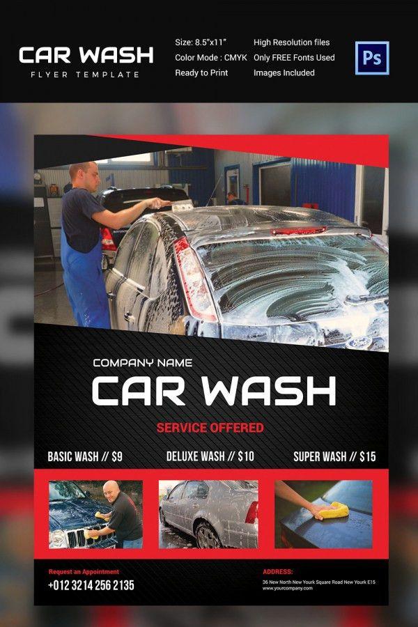 Car Wash Flyer - 48+ Free PSD, EPS, Indesign Format Download ...