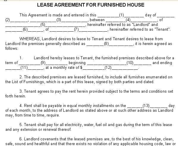 13 Best Images of Lease Agreement For Room In House - House Rental ...