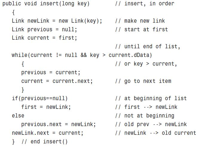 java - Inserting Node in a Sorted linked list - Stack Overflow