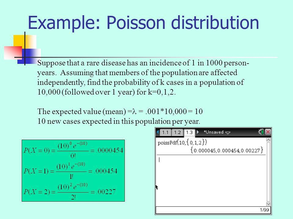 THE POISSON DISTRIBUTION - ppt video online download