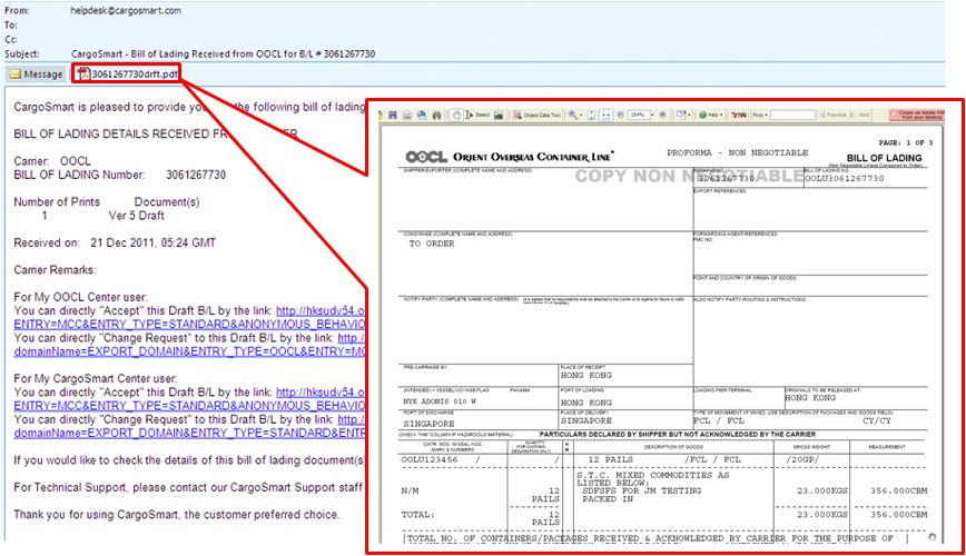 """OOCL - """"Click-To-Accept"""" Draft Bill of Lading Feature Without Log ..."""