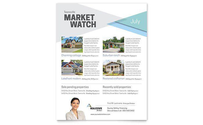Marketing Materials for Realtors – DIY Printable Templates ...
